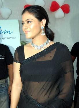 Bollywood actress Kajal Navel show