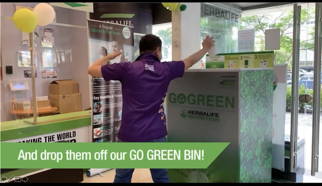 Herbalife Nutrition Go Green Recycling Program