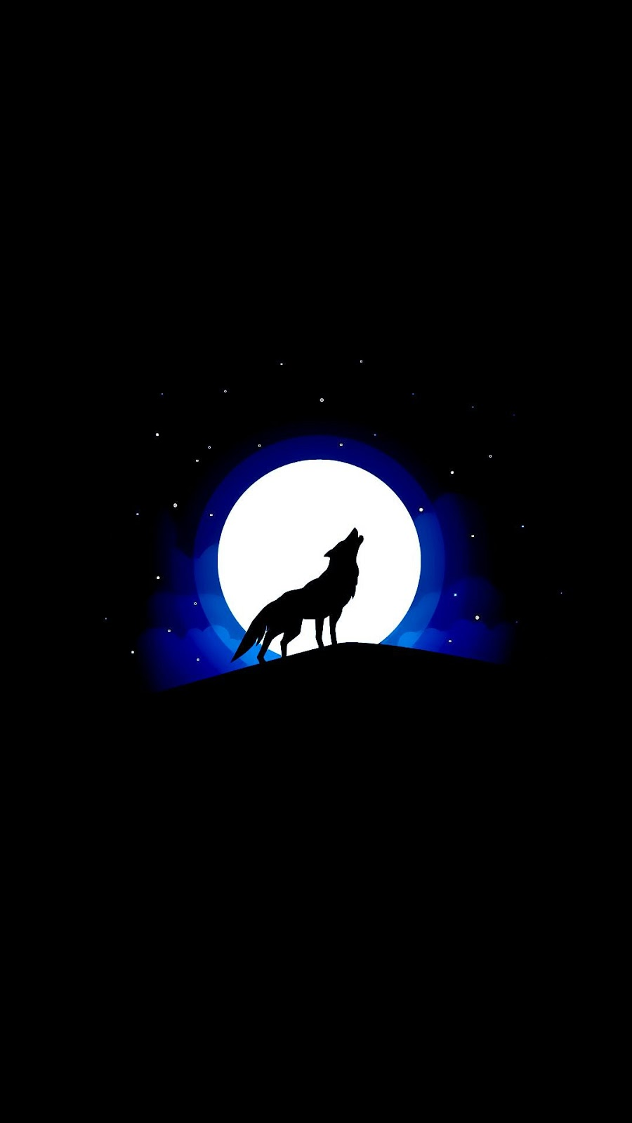 Howling Wolf (Saving battery for Amoled display)