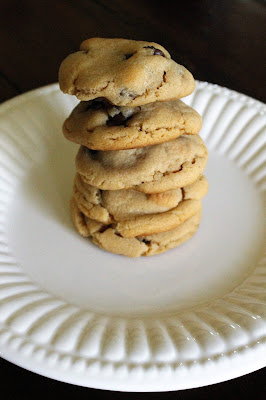 Dad's Favorite Peanut Butter Chocolate Chip Cookies + Father's Day Favorites Blog Party