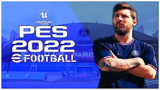 Download eFootball PES 2022 PPSSPP PSG Edition New Update Transfer & HD Tatto English Version