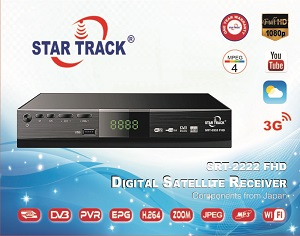 Star track receiver SRT2222 FHD