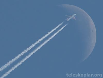 ay ve uçak gözlemi