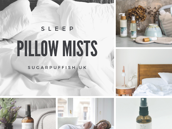 Get a good night sleep with natural aromatherapy room and pillow mists