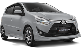 Toyota Agya Warna Silver Metalic