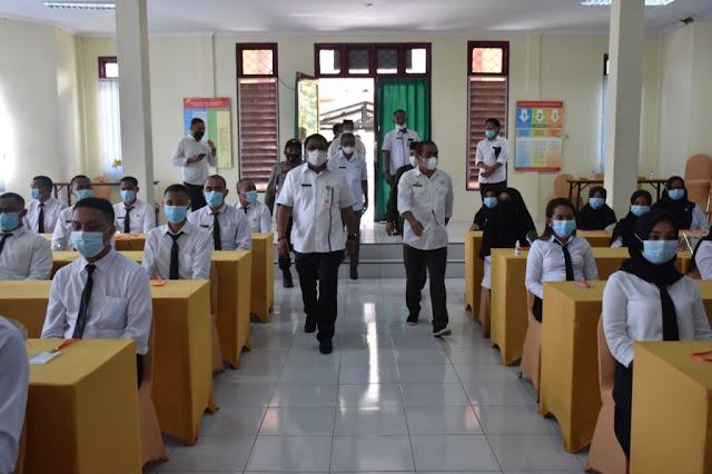 Ismail Dukomalamo Buka Pelatihan Dasar CPNS Golongan II dan III di Tidore Kepulauan.lelemuku.com.jpg