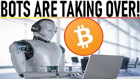 """BOTS ARE TAKING OVER! INSANE MOVE FOR BITCOIN! BUY THE """"GOOGLE"""" OF CRYPTO! WTF? BANKS BUYING BIG!"""