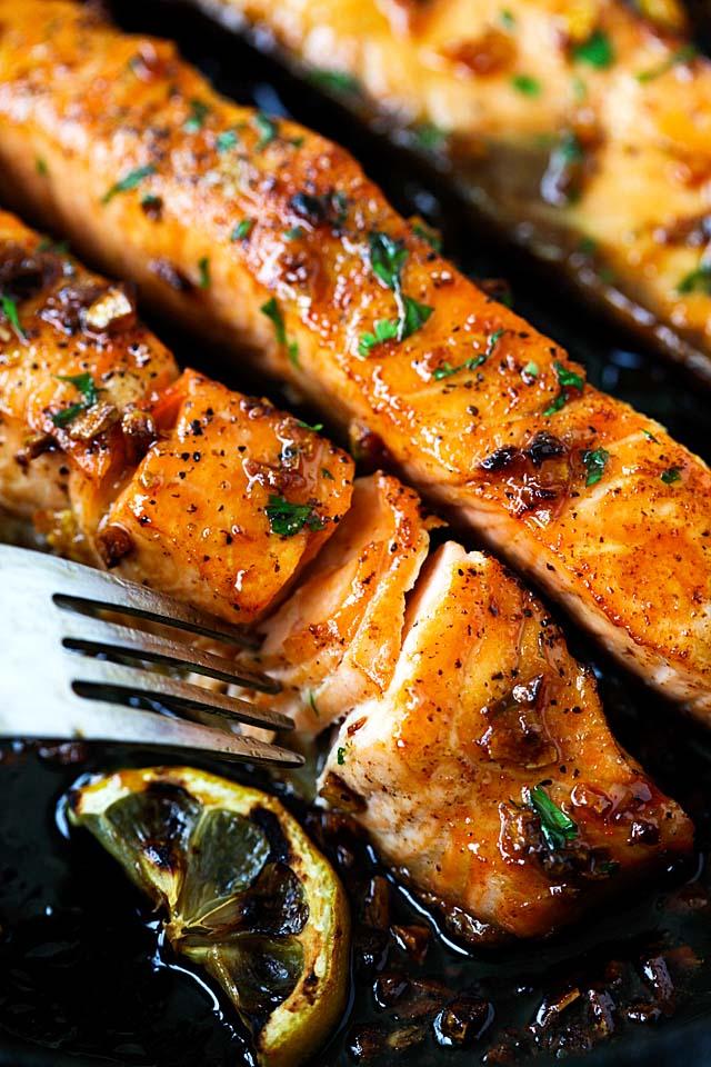 Best Honey Garlic Salmon