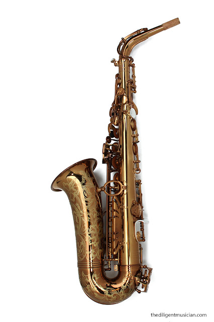 Viking Valkyrie Alto Saxophone Review Back