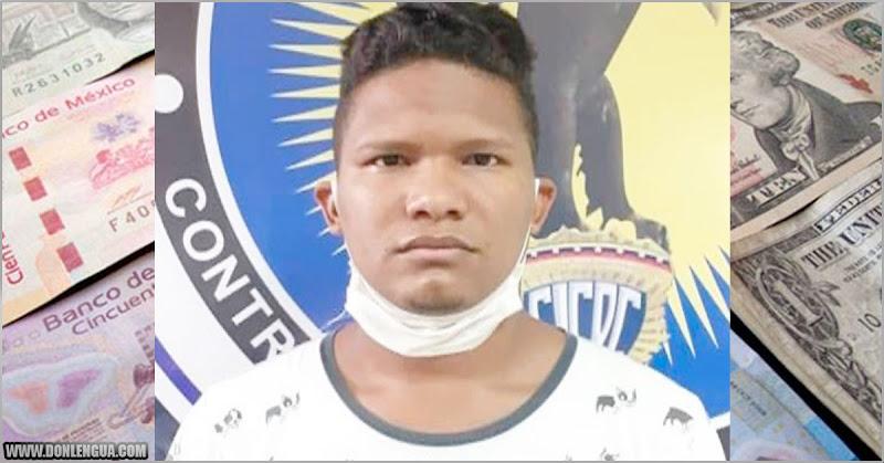 Detenido estafador con venta de dólares por las redes sociales en Carabobo