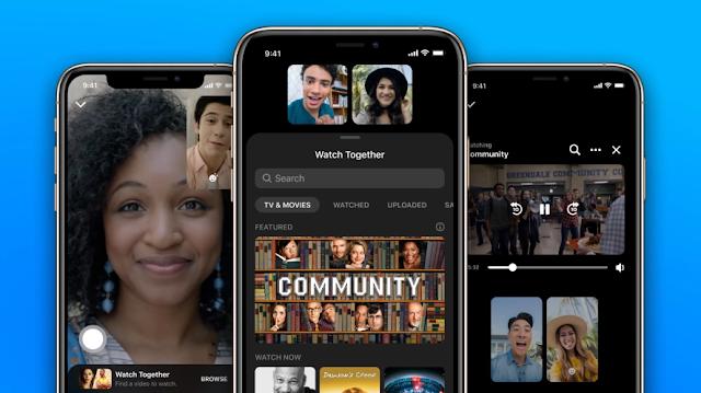 تقدم فيسبوك ميزة المشاهدة معاً على Messenger