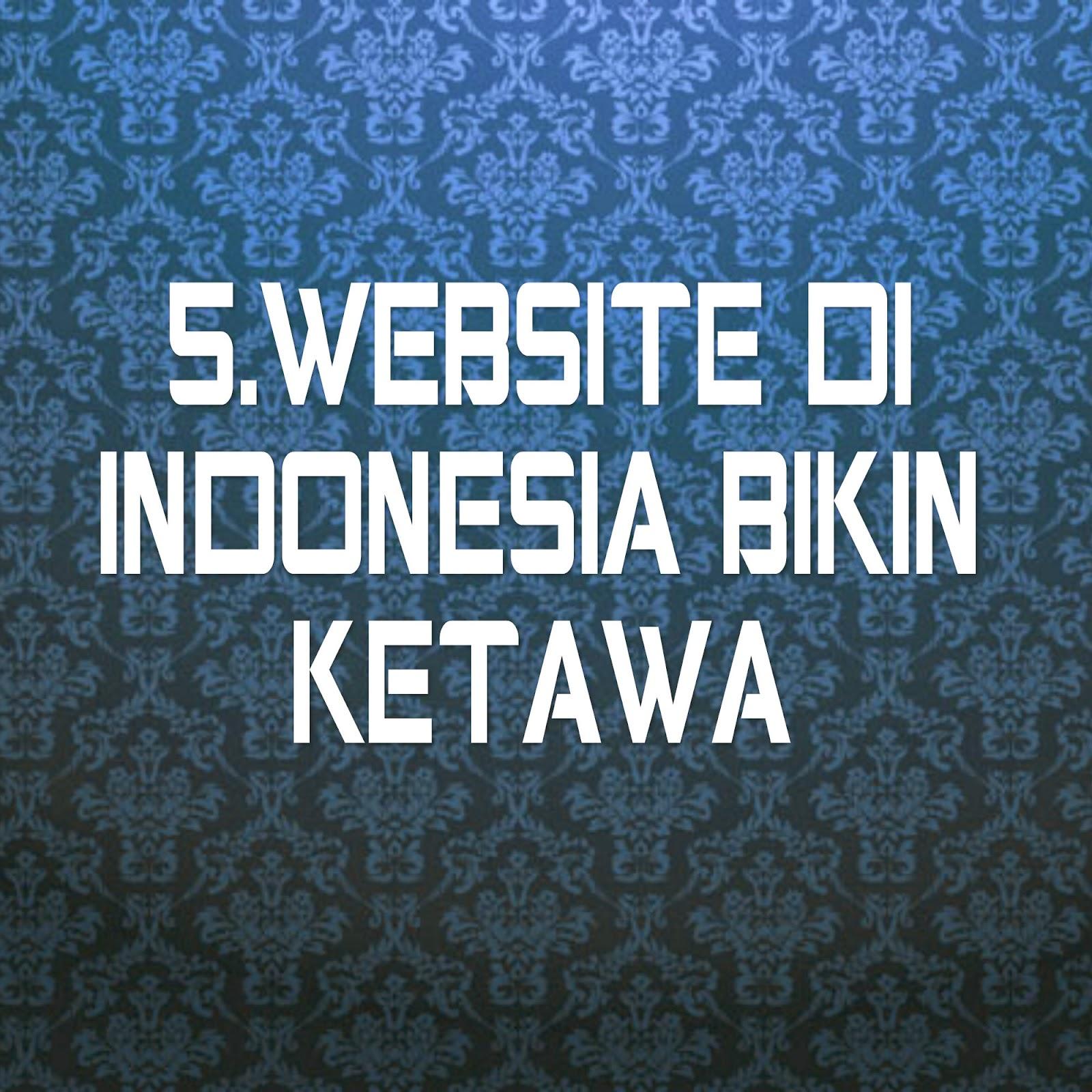 5 WEBSITE DI INDONESIA BIKIN KETAWA DAFFACOEG