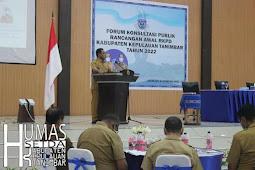 Petrus Fatlolon Harap RKPD Tahun 2022 Hasilkan Kebijakan Strategis Bangun Tanimbar