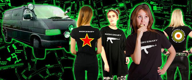 Mercenary Garage Merchandise Store - Women's T-Shirts - https://mercenary-garage.myshopify.com/