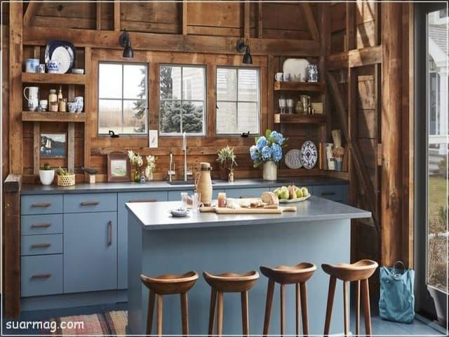 مطابخ خشب 2020 2   Wood Kitchens 2020 2