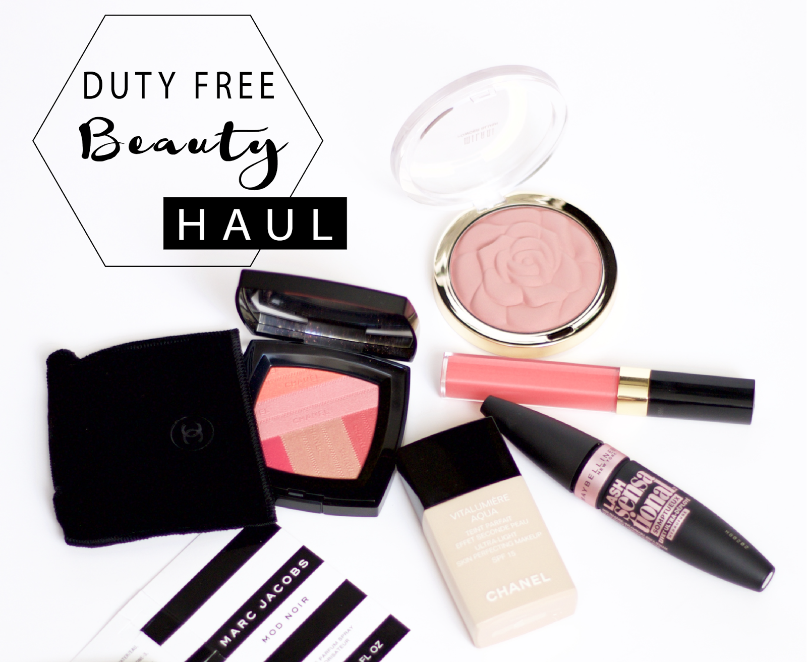 duty-free beauty haul