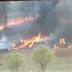 Urgente: avião cai e cinco pessoas da mesma família morrem queimadas; veja vídeo