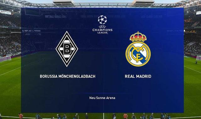 Prediksi Score Real Madrid vs Monchengladbach