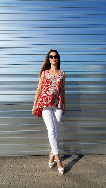 fashionablegalaxy, белые джинсы
