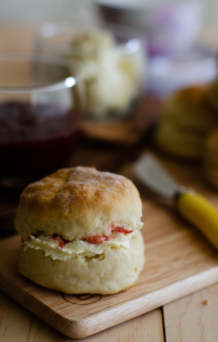 homemade lemonade scones
