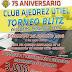 26 agosto: Blitz 75 aniversario C.A. Utiel (Torneos Open con 750 euros el campeón y Sub-1900 con 200 euros el campeón)