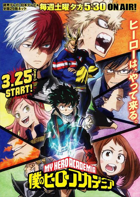 My Hero Academia Season 2 Poster