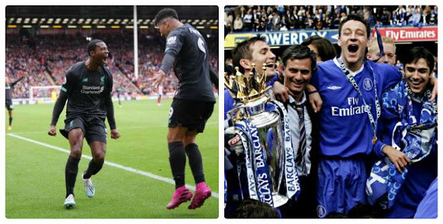 Liverpool tái hiện kỳ tích 29 năm: Sẽ vô địch như Chelsea của Mourinho? 3