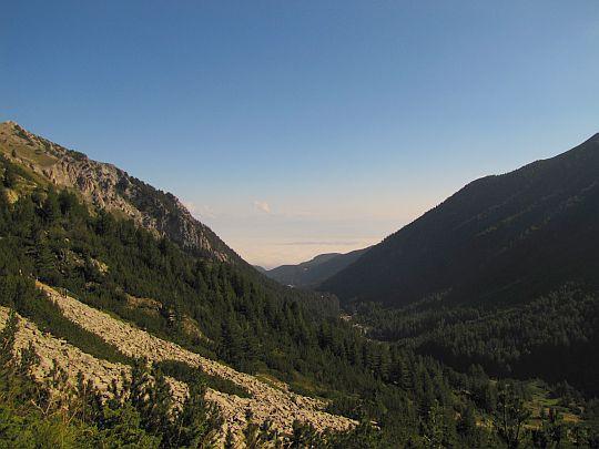 Ujście doliny Byndericy.