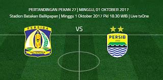 Persiba Balikpapan vs Persib Bandung Beradu Semangat Bertarung