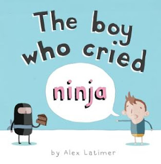 The boy who cried Ninja book cover