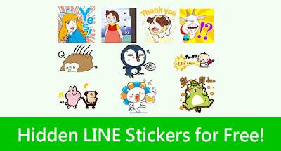 Download Stiker dan Tema Line Luar Negeri Terbaru Minggu Ini