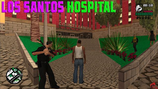 GTA San Andreas Los Santos Hospital Textures Pc