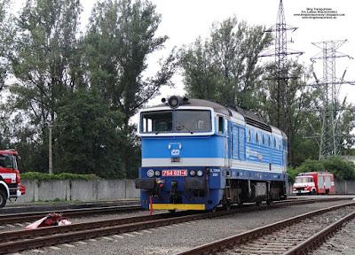 Brejlovec 754 021-4, České dráhy, Czech Raildays 2018