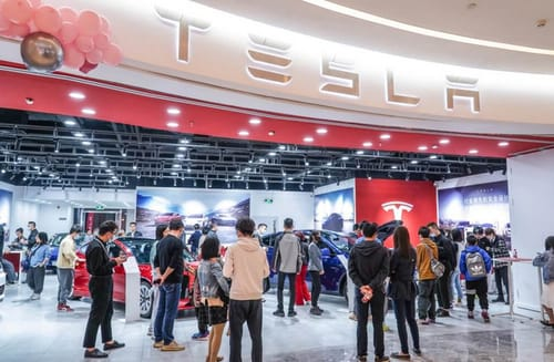 Tesla stores Chinese user data locally