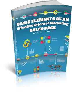 Basic Elements Of An Effective Internet Marketing Sales