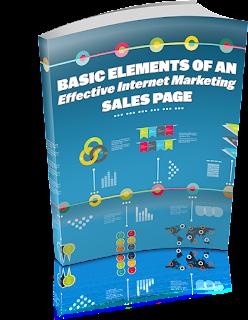 Basic Elements Of An Effective Internet Marketing Sales