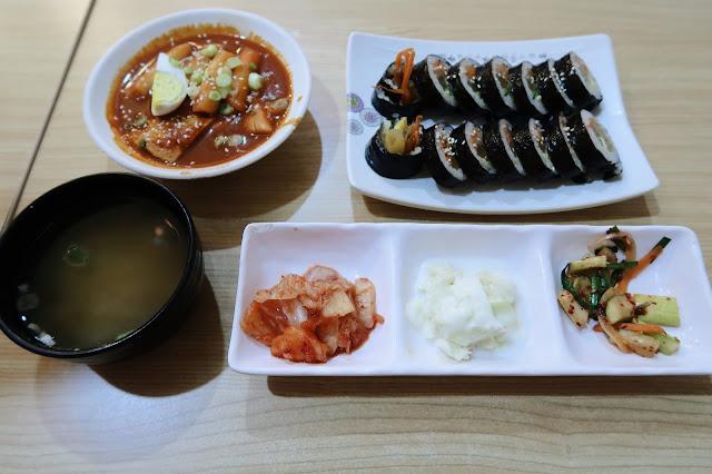 Kimbap & Half Tteokbokki @ Sopoong, IOI City Mall