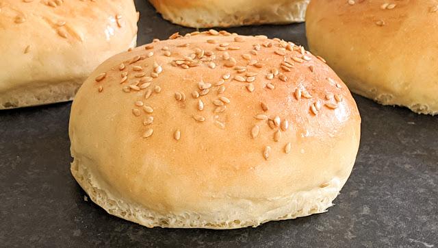 recette, pain burger, fait maison, fast food