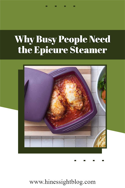 How this steamer can help busy people in the kitchen. It can help you get dinner on the table in 20 minutes or less