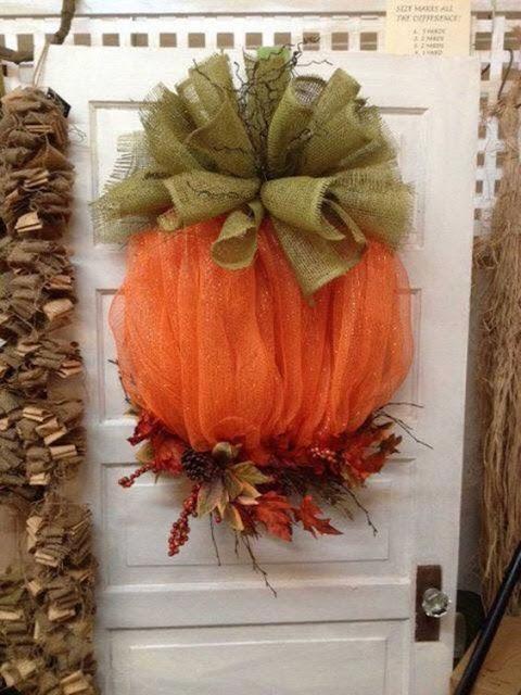 zucca halloween decorazione