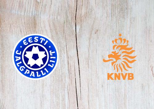 Estonia vs Netherlands -Highlights 9 September 2019