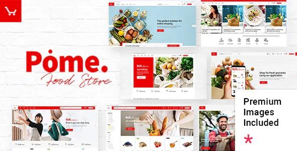 Best Food Store WordPress Theme