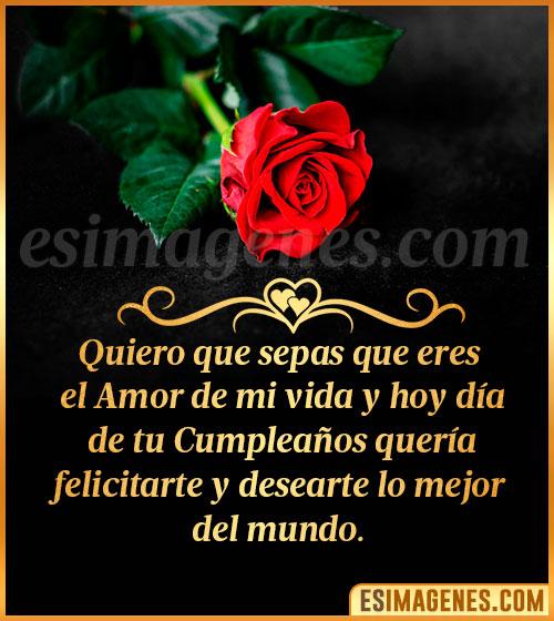 tarjetas de cumpleaños de amor flores de rosas