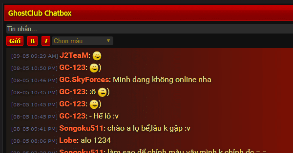 J2TeaM Chatbox XenForo