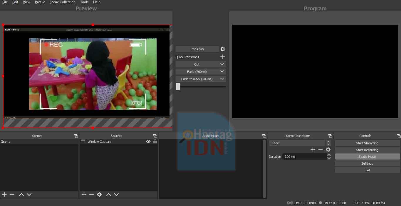 Memakai Shortcut Keyboard Transform Crop, drag dan Rotate