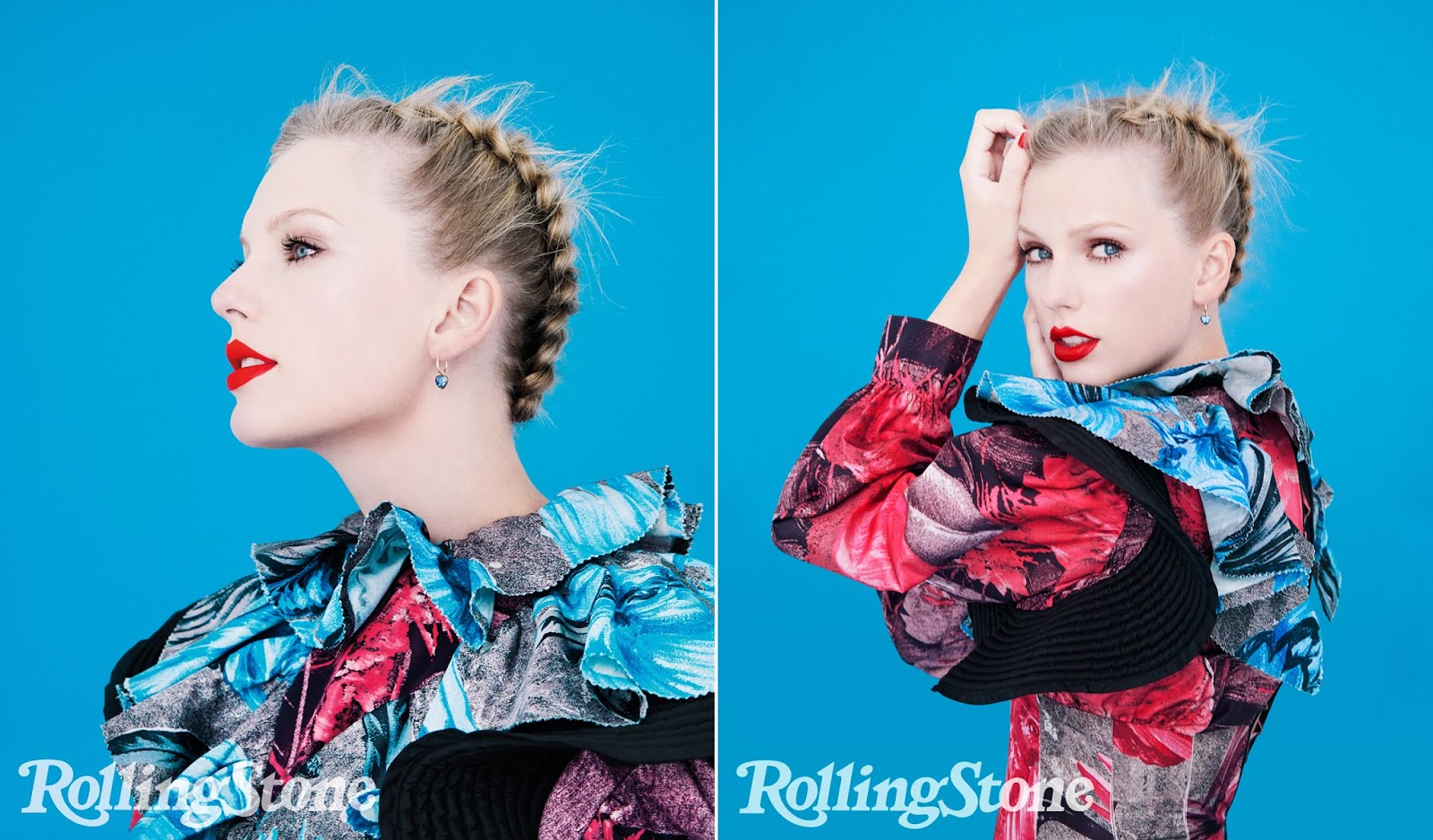 Photograph by by Erik Madigan Heck for Rolling Stone. Dress by Louis Vuitton. Earrings by Jessica McCormack