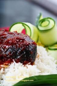 Resipi Nasi Lemak Ikan Aye Terengganu