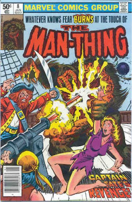 Man-Thing #8, Captain Fate