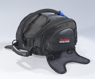 ThirstyRock Hydration Tank Bag can help you safely hydrate while riding your motorcycle.