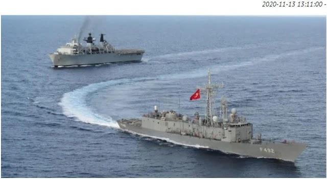 Άσκηση – πρόκληση Τούρκων και Βρετανών στην Ανατολική Μεσόγειο!